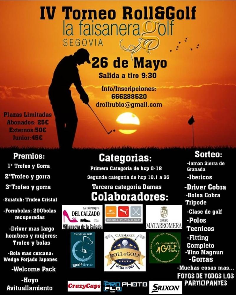 IV Torneo Roll&Golf